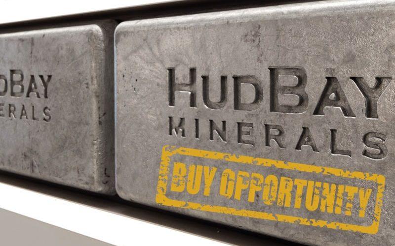 Hudbay Minerals. Buy opportunity