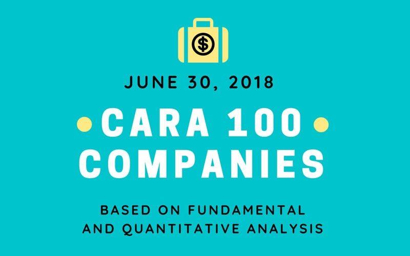 Cara 100 companies